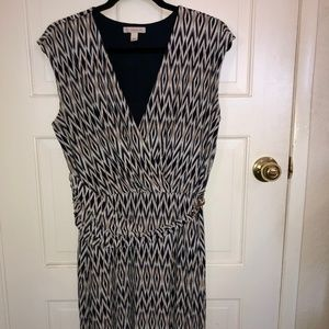 Multipattern Dress
